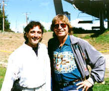 Anthony Raffa and John Denver Windstar - Aspen Colorado 1995